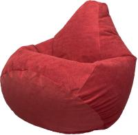 Бескаркасное кресло Flagman Груша Макси Г2.5-23 (красный) -