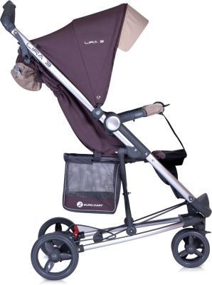 Детская прогулочная коляска Euro-Cart Lira 3 Pistachio - вид сбоку
