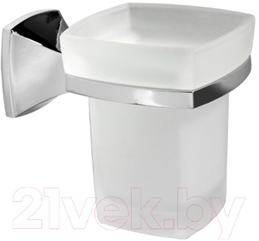 Купить Стакан для зубных щеток Wasserkraft, Wern K-2528, Германия, металл