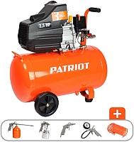 Воздушный компрессор PATRIOT Euro 50-260K (+ набор KIT 5В 1.8 кВт) -