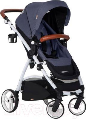 Детская прогулочная коляска EasyGo Optimo (denim)