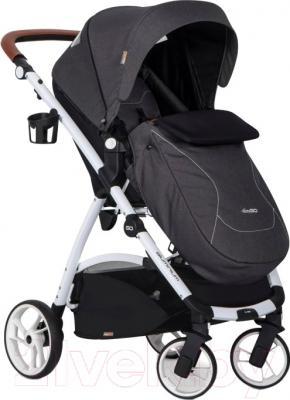Детская прогулочная коляска EasyGo Optimo (denim) - внешний вид на примере модели другого цвета