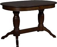 Обеденный стол Мебель-Класс Пан (темный дуб) -