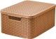 Корзина Curver Style M 03618-213-00 / 211543 (коричневый) -
