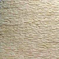 Декоративный камень Royal Legend Сланец слоновая кость с нежно-желтым 01-040 (360x85x10-15) -