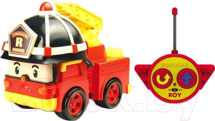 Купить Радиоуправляемая игрушка Robocar Poli, Рой / 83186, Китай, пластик