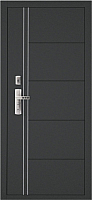 Входная дверь Форпост 128-S Венге (96x205, правая) -