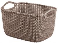 Корзина Curver Knit S 03674-X59-00 / 226167 (коричневый) -