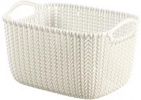 Корзина Curver Knit S 03674-X64-00 / 226391 (белый) -