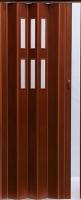 Дверь межкомнатная Vivaldi Pioneer Glass (темный орех) -