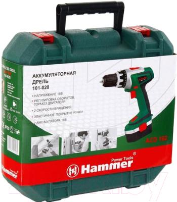 Аккумуляторная дрель-шуруповерт Hammer Flex ACD182