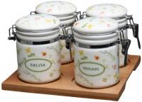 Набор емкостей для хранения Tognana Dolce Casa Floreal (5пр) -