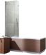 Стеклянная шторка для ванны Radaway EOS PNJ 70/L / 205101-101L -