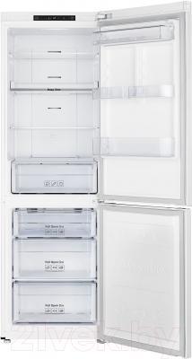 Холодильник с морозильником Samsung RB30J3000WW/WT
