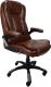 Кресло офисное Calviano Veroni 309 (темный шоколад) -