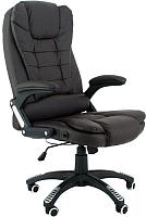 Кресло офисное Calviano Veroni 355 c массажем (черный) -