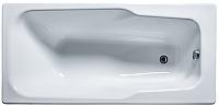 Ванна чугунная Универсал Нега-У 150x70 (1 сорт, с ножками) -