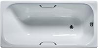 Ванна чугунная Универсал Ностальжи-У 170x75 (1 сорт, с ручками и ножками) -