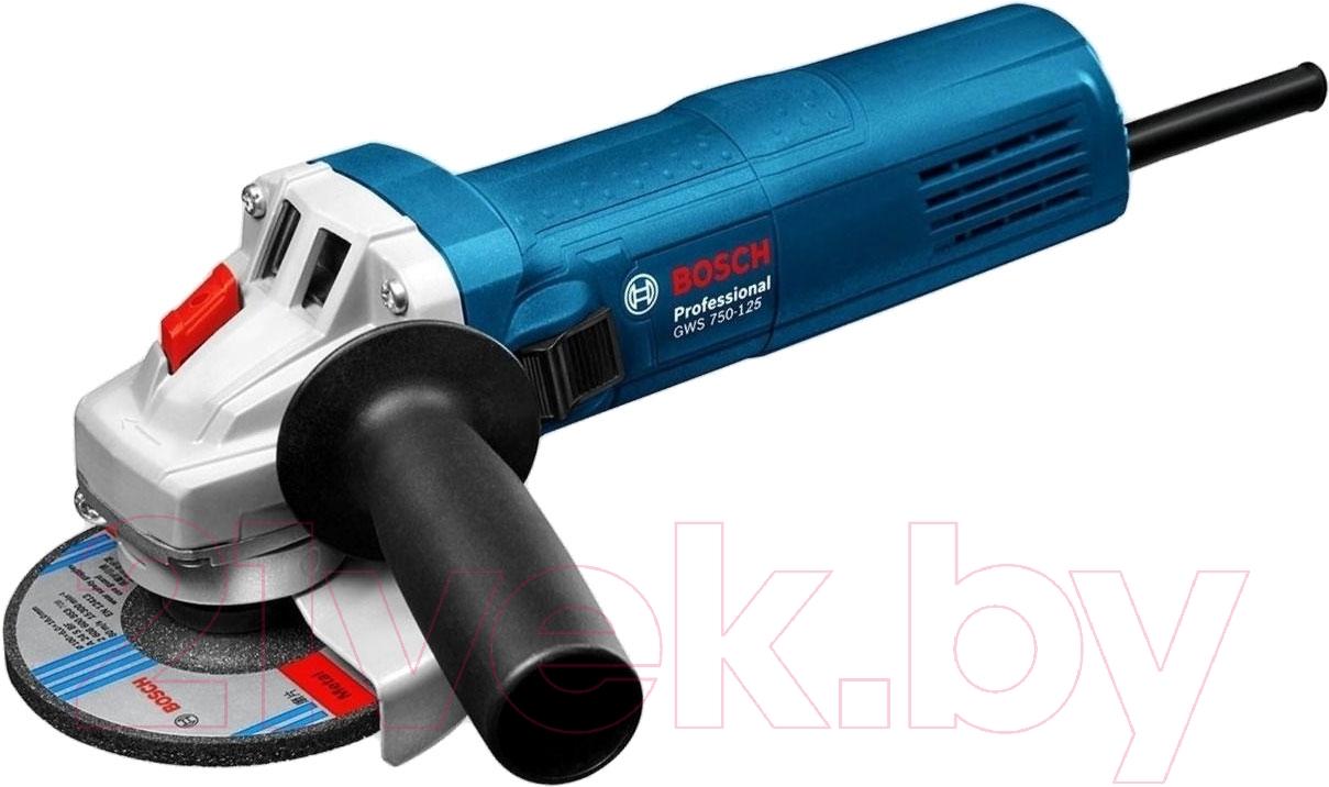 Купить Профессиональная угловая шлифмашина Bosch, GWS 750 (0.601.394.001), Китай