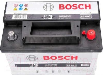 Автомобильный аккумулятор Bosch S3 007 570 144 064 / 0092S30070 (70 А/ч)