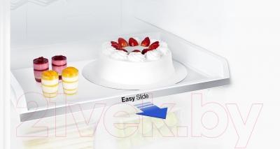 Холодильник с морозильником Samsung RB30J3200SS
