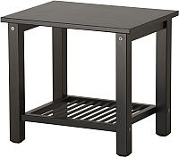 Прикроватная тумба Ikea Рикене 002.574.77 (черно-коричневый) -