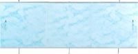 Экран для ванны Oda Универсал 1.50 (светло-голубой мрамор) -