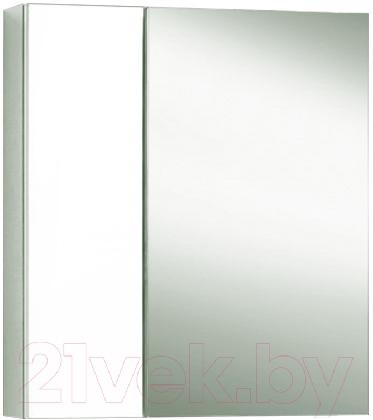 Купить Шкаф с зеркалом для ванной Акваль, Афина 60 L / 04.61.00.N, Беларусь