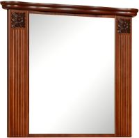 Зеркало для ванной Bliss Баккара / 0453.2 (орех эко) -