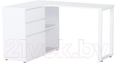 Ikea ченис 70292670 белый письменный стол купить в минске