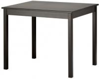 Обеденный стол Ikea Олмстад 802.403.84 (коричнево-черный) -