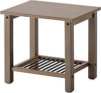 Прикроватная тумба Ikea Рикене 902.649.92 (серо-коричневый) -