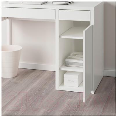 Ikea микке 09903014 белый письменный стол купить в минске