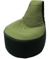 Бескаркасное кресло Flagman Трон Т1.3-04 (оливковый/зеленый) -