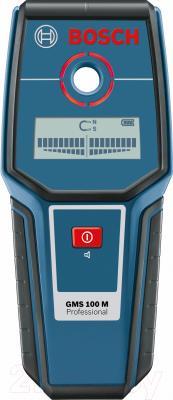 Детектор скрытой проводки Bosch GMS 100 M (0.601.081.100) - вид спереди