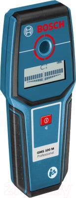 Детектор скрытой проводки Bosch GMS 100 M (0.601.081.100) - вид сбоку