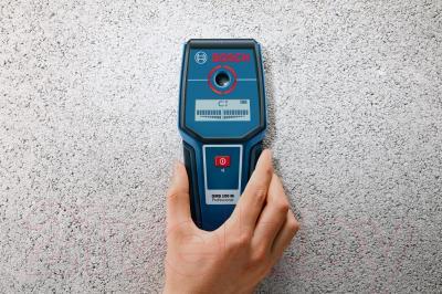 Детектор скрытой проводки Bosch GMS 100 M (0.601.081.100) - в работе
