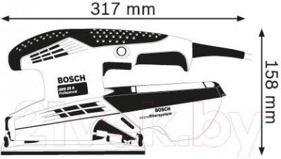 Профессиональная виброшлифмашина Bosch GSS 23 A Professional (0.601.070.400) - схема