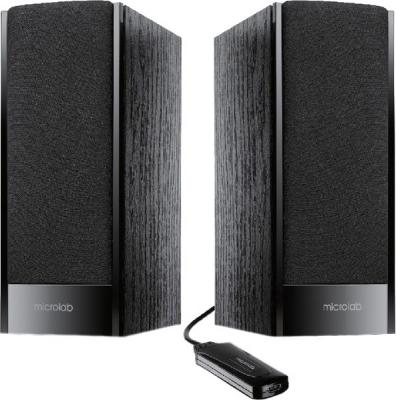 Мультимедиа акустика Microlab B 56 (черный) - общий вид