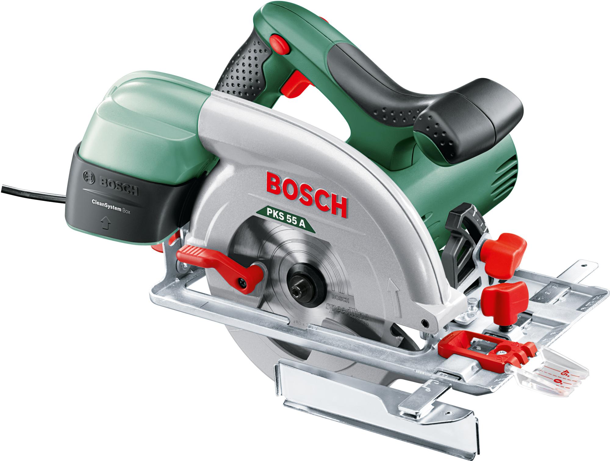 Купить Дисковая пила Bosch, PKS 55 A (0.603.501.020), Китай