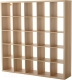 Стеллаж Ikea Каллакс 703.147.33 (беленый дуб) -