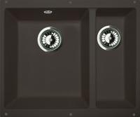 Мойка кухонная Zigmund & Shtain Integra 500.2 (черный базальт) -