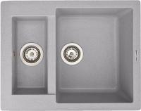 Мойка кухонная Zigmund & Shtain Rechteck 600.2 (млечный путь) -