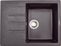 Мойка кухонная Zigmund & Shtain Rechteck 645 (темная скала) -