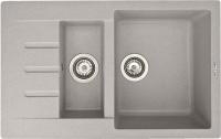 Мойка кухонная Zigmund & Shtain Rechteck 775.2 (каменная соль) -