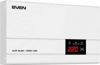 Стабилизатор напряжения Sven AVR Slim-1000 LCD -