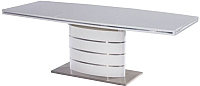 Обеденный стол Signal Fano 100x180 (белый лак) -