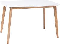 Обеденный стол Signal Mosso I (белый/дуб) -