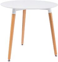Обеденный стол Signal Nolan III (белый/бук) -