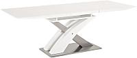 Обеденный стол Signal Raul (белый лак) -